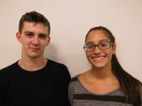 Natalie Dückers und Yannick von Holten Jugendleitung